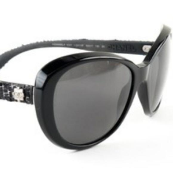 0b280bccef4 CHANEL Tweed sunglasses